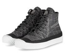 Hightop-Sneaker - DUNKELGRÜN/ SCHWARZ