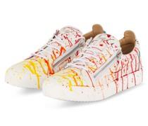 Sneaker FRANKIE - WEISS/ ROT/ GRÜN