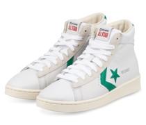 High-Top-Sneaker - WEISS/ GRÜN
