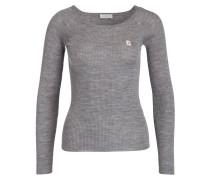 Pullover - dunkelgrau meliert