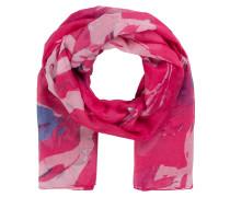 Schal AFLOWER - pink/ rosa/ blau