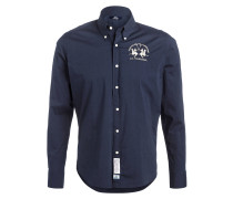 Hemd RAF Slim-Fit - blau
