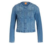 Jeansjacke TOULOUSE - blau meliert