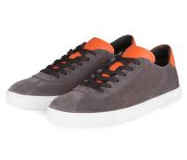 Sneaker - grau/ orange