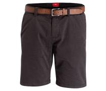 Shorts PLEK Loose-Fit - anthrazit/ schwarz