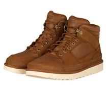 Hightop-Sneaker HIGHLAND - COGNAC