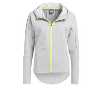 Sweatjacke TRANSITION - grau