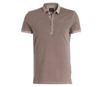 Piqué-Poloshirt J-PENG-P - braun