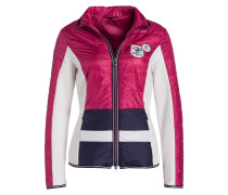Steppjacke MADISON - magenta/ weiss