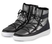 Moon Boots PULSE - schwarz/ silber