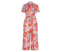 Jumpsuit POPPY BELTED SAFARI aus Leinen