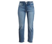 Girlfriend-Jeans - blau