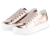 Plateau-Sneaker BIG - rosé metallic