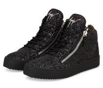 Hightop-Sneaker MAY GLITTER - SCHWARZ