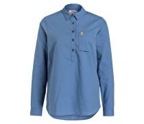 Blusenshirt KIRUNA LITE - blau