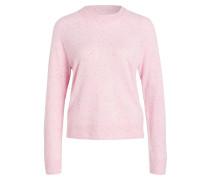 Cashmere-Pullover BOSTON - rosa meliert