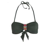 Bandeau-Bikini-Top THERMO NINABELL - grün
