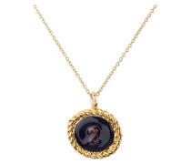 Kette NUMERO2 - gold/ navy