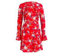 Kleid ASTA - rot/ blau/ weiss