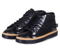 Plateau-Sneaker - navy