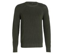 Grobstrick-Pullover PARKLAND - grün