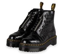 Plateau-Boots SINCLAIR - SCHWARZ