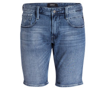 Jeans-Shorts ANBASS - 010 mid blue