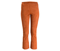 Lederhose MAXIME - orange