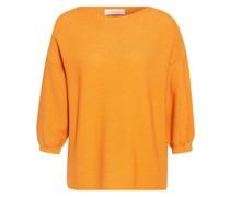 Oversized-Pullover mit Glitzergarn
