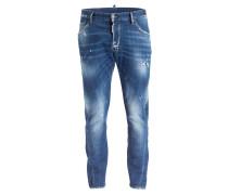 Destroyed-Jeans KENNY Slim-Fit - 470 blau
