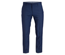 Kombi-Hose Fitted - blau