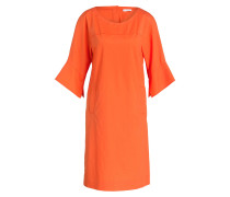 Kleid - orangerot