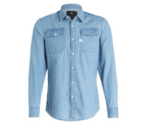 Jeanshemd LANDOH Slim-Fit - 424 light blue