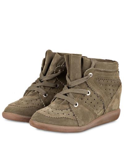 Plateau-Sneaker BOBBY - KHAKI