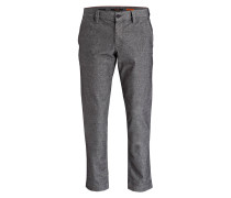 Chino LOU Regular Slim-Fit - grau