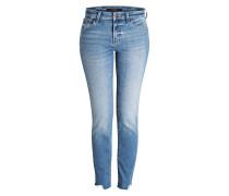 Cropped-Jeans AMELI - blau