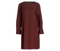 Kleid - burgunder