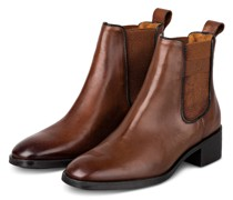 Chelsea-Boots DELLAR - COGNAC