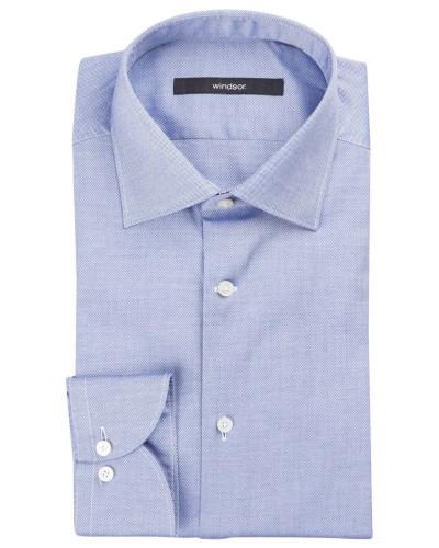 Hemd TORRI Shaped-Fit - blau meliert
