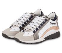 Sneaker 551 - weiss/ grau/ rosé