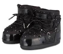 Moon Boots BUZZ PATENT mit Nieten- und Strass-Besatz