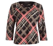 Pullover - schwarz/ rosa/ braun