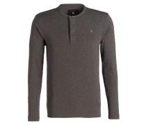 Henley-Shirt - khaki