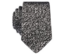 Krawatte - schwarz/ grau