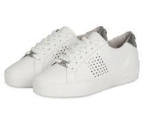 Plateau-Sneaker POPPY - weiss
