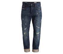 Destroyed-Jeans 3301 Tapered-Fit