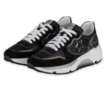 Plateau-Sneaker LOGAN18 - SCHWARZ