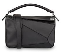Handtasche PUZZLE - schwarz