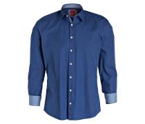 Hemd Level Five Casual body fit - blau