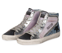 Hightop-Sneaker SUPERSTAR - grau